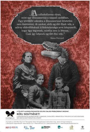 A Drogprevenciós Munkacsoport párkapcsolati erőszak ellenes kampányának második plakátja